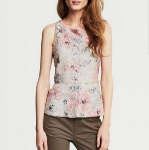Banana Republic | Sequined Peplum Top